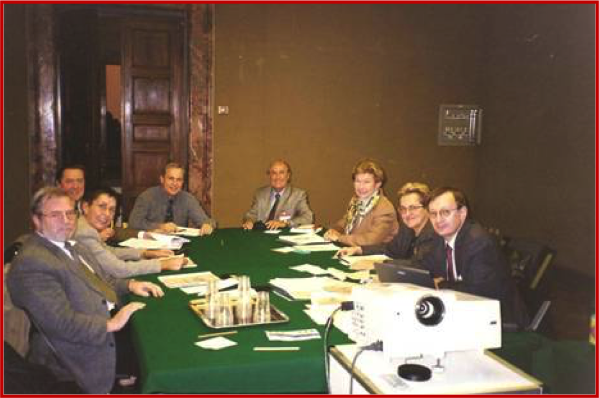 FIGIJ Executive Committee, Singapore 1995