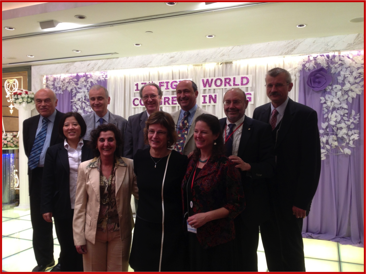 The in-office FIGIJ Board, Hong Kong 2013
